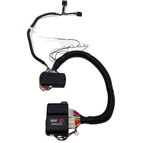 1-Button-Remote-Starter-Kit-CHRYSLER-DODGE-JEEP-2007-2015-Complete-Kit-Includes-LC1-Remote-StartFortin-EVOCHR5-Bypass-Wiring-T-Harness-makes-Plug-Play-Install-Up-To-1000-ft-Range-0