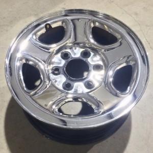 Inch Chevy Gmc Truck Van Silverado Sierra Safari Astro Tahoe Suburban Savana Oem Steel Chrome Wheel Rim X