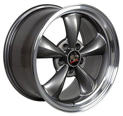 17-inch-Fits-Ford-Mustang-Bullitt-Aftermarket-Wheel-Anthracite-Machined-Lip-17×9-0-0