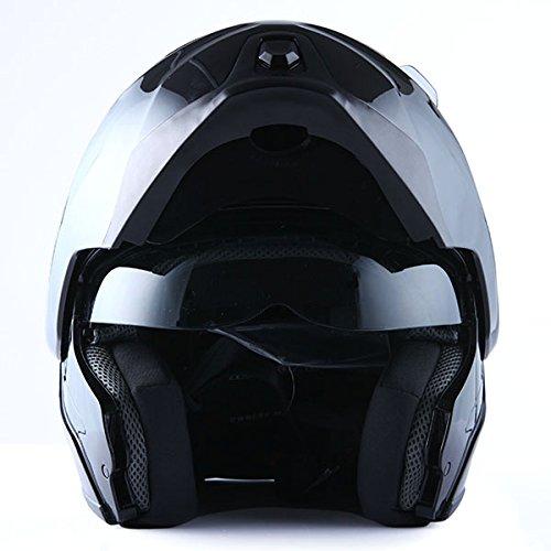 1Storm-Motorcycle-Street-Bike-ModularFlip-up-Dual-Visor-Sun-Shield-Full-Face-Helmet-0-1