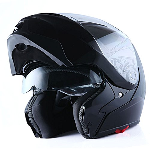 1Storm-Motorcycle-Street-Bike-ModularFlip-up-Dual-Visor-Sun-Shield-Full-Face-Helmet-0