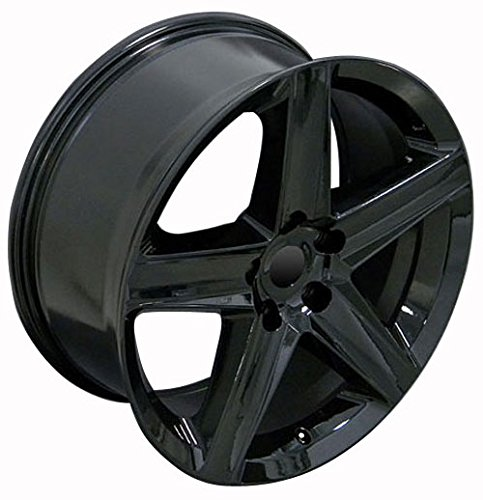 20 inch fits jeep grand cherokee aftermarket wheel black 20 9 online auto parts world. Black Bedroom Furniture Sets. Home Design Ideas