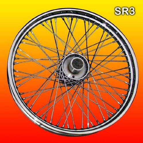 21-60-Spoke-Chrome-Front-wheel-for-Harley-Davidson-0