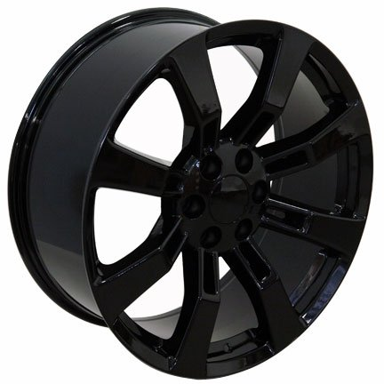 22-inch-Fits-Cadillac-Escalade-Aftermarket-Wheels-Black-22×9-Set-of-4-0-0