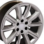 22-inch-Fits-Chevrolet-Tahoe-Aftermarket-Wheels-Hyper-Black-with-Chrome-Inserts-22×9-Set-of-4-0-1