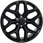 22-inch-Fits-GMC-Sierra-Aftermarket-Wheels-Matte-Black-22×9-Set-of-4-0-1