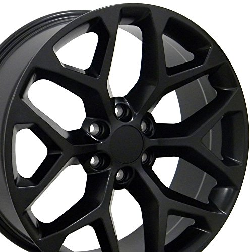 22-inch-Fits-GMC-Sierra-Aftermarket-Wheels-Matte-Black-22×9-Set-of-4-0