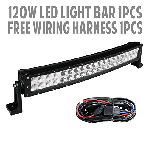 288w 50″ Inch 10v-30v Curved LED Light Bar LED Work Light ... on