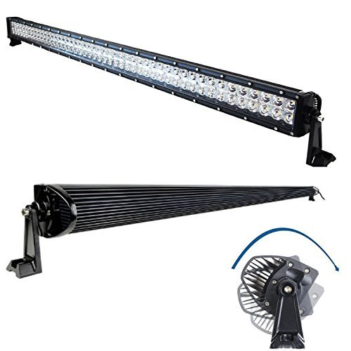 300W-9-75V-52-LED-Light-Bar-COMBO-Beam-30200lm-for-Off-road-ATV-UTV-Truck-pick-up-Pack-of-1-0