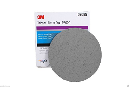 3M-02085-Trizact-Hookit-6-P3000-Grit-Foam-Disc-15-Pcbox-0