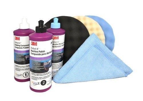 3M-Perfect-it-BUFFING-POLISHING-KIT-Pad-Compound-Foam-39062-39061-39060-5723-5725-5751-0