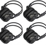 4-Pack-of-Two-Channel-Folding-Universal-Rear-Entertainment-System-Infrared-Headphones-Wireless-IR-DVD-Player-Head-Phones-for-in-Car-TV-Video-Audio-Listening-0