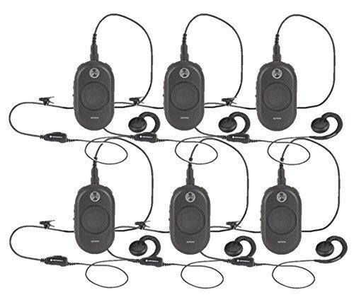 6-Pack-of-Motorola-CLP1010-Two-Way-Radio-Walkie-Talkies-0