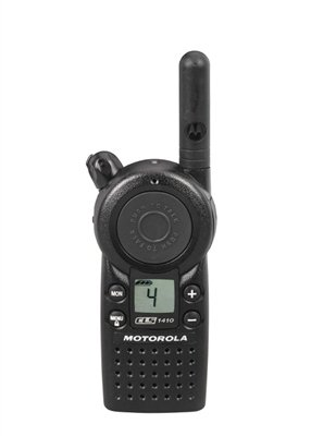 6-Pack-of-Motorola-CLS1410-Walkie-Talkie-Radios-with-Headsets-6-Bank-Charger-0-0
