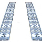 75-ft-Aluminum-Plate-Top-Lawnmower-ATV-Truck-Loading-Ramps-trailer-pair-ATV001-0-0