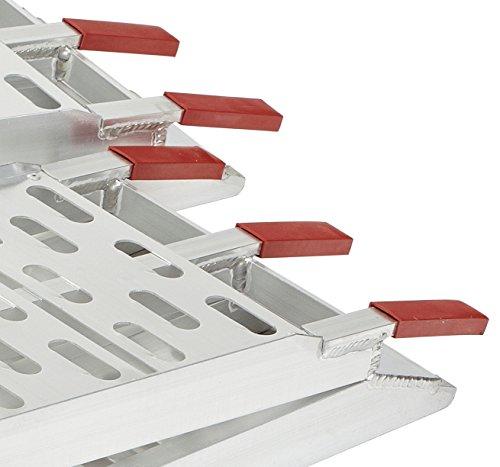 89-Aluminum-Bi-Fold-ATVUTV-Loading-Ramp-Set-1500lb-Capacity-0-0