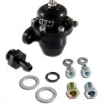 AEM-25-300BK-Black-High-Volume-Adjustable-Fuel-Pressure-Regulator-0