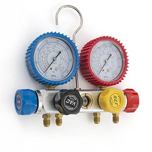 ARKSEN-4-Way-Valve-Manifold-Gauge-4Hoses-Quick-Adapter-HVAC-12HP-5CFM-Vacuum-Pump-0-1
