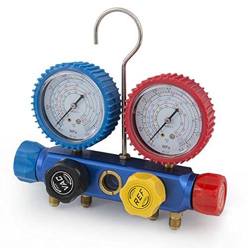 ARKSEN-5CFM-12HP-Rotary-Vacuum-Pump-13HP-w-AC-Manifold-Gauge-Set-R410-R22-R134-R407C-0-1