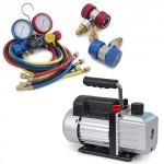 ARKSEN-5CFM-12HP-Rotary-Vacuum-Pump-13HP-w-AC-Manifold-Gauge-Set-R410-R22-R134-R407C-0