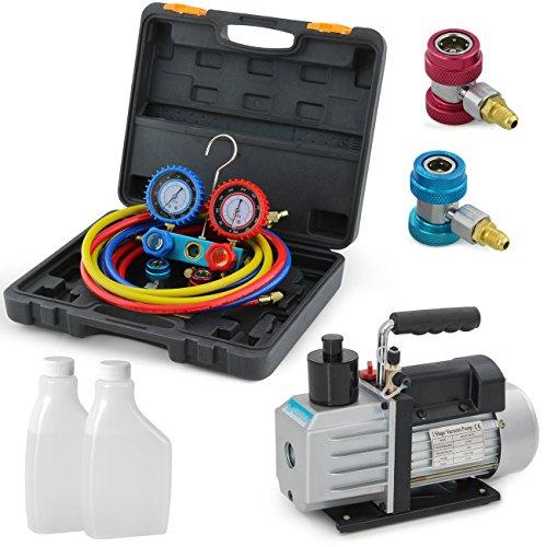 ARKSEN-Rotary-Vane-Vacuum-Pump-5-CFM-12-HP-AC-Refrigeration-AC-R134A-HVAC-0