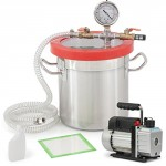 ARKSEN-Vacuum-Chamber-2-Gallon-3-CFM-Single-Stage-Pump-Degassing-Silicone-Set-0