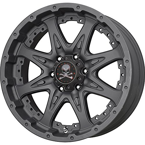 American-Outlaw-Buckshot-17-Matte-Black-Wheel-Rim-8×65-with-a-15mm-Offset-and-a-125-Hub-Bore-Partnumber-100-7982MB-0