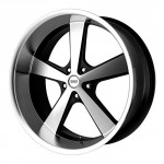 American-Racing-VN701-Nova-Gloss-Black-Wheel-with-Machined-Face-and-Spokes-22x115x127mm-18mm-offset-0