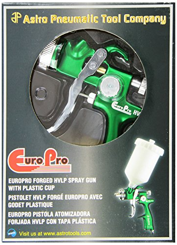 Astro-EUROHV103-EuroPro-Forged-HVLP-Spray-Gun-with-13mm-Nozzle-and-Plastic-Cup-0