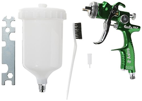 Astro-EUROHV109-EuorPro-Forged-HVLP-Spray-Gun-with-19mm-Nozzle-and-Plastic-Cup-0