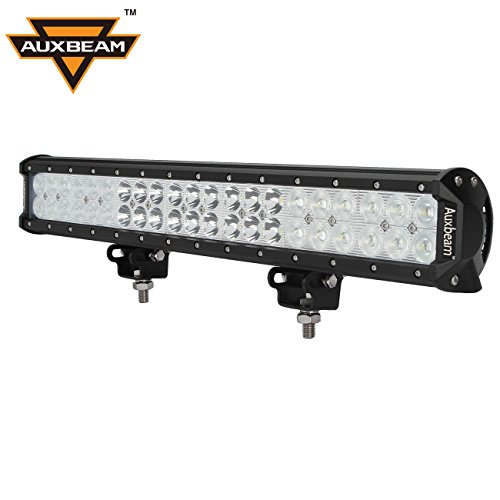 Auxbeam-20-126W-LED-Work-Light-Bar-8820lm12600lm-CREE-Combo-Beams-for-Van-Camper-Wagon-ATV-AWD-SUV-4WD-4×4-Pickup-Van-Black-Offroad-0