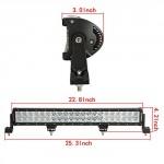 Auxbeam-22-126W32-180W50-288W-Cree-Led-Light-Bar-Combo-Beam-0-0