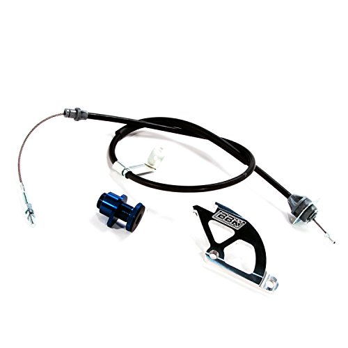 BBK-16095-Adjustable-Clutch-Cable-Double-Hook-Aluminum-Quadrant-and-Firewall-Adjuster-Kit-for-Ford-Mustang-GT-Cobra-0