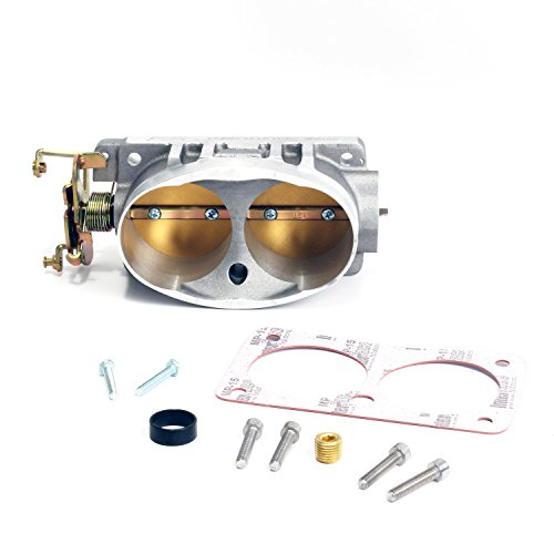 BBK-1711-Twin-65mm-Throttle-Body-High-Flow-Power-Plus-Series-for-Ford-46L-4V-Cobra-V-10-F-Series-Excursion-Mustang-Mach-1-and-Bullitt-0