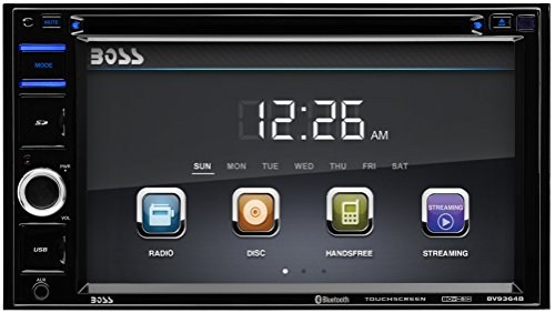BOSS-AUDIO-BV9356-Double-DIN-62-inch-Touchscreen-DVD-Player-Receiver-Wireless-Remote-0