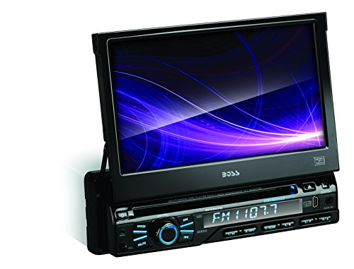 BOSS-AUDIO-BVB9967RC-Single-DIN-7-inch-Motorized-Touchscreen-DVD-Player-Receiver-Bluetooth-Detachable-Front-Panel-Wireless-Remote-and-Rear-camera-included-0-0