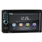 BOSS-Audio-In-Dash-Double-Din-62-inch-Touchscreen-DVDCDUSBSDMP4MP3-Player-Receiver-Bluetooth-Streaming-Bluetooth-Hands-free-with-Remote-0