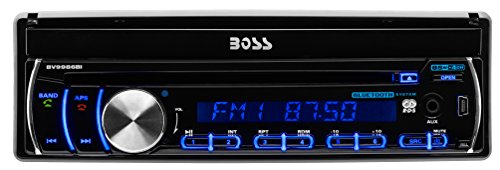 BOSS-Audio-In-Dash-Single-Din-7-inch-Motorized-Detachable-Touchscreen-DVDCDUSBSDMP4MP3-Player-Receiver-Bluetooth-Streaming-Bluetooth-Hands-free-with-Remote-0-0