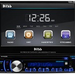 BOSS-Audio-In-Dash-Single-Din-7-inch-Motorized-Detachable-Touchscreen-DVDCDUSBSDMP4MP3-Player-Receiver-Bluetooth-Streaming-Bluetooth-Hands-free-with-Remote-0