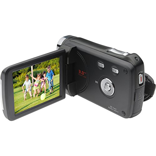 Bell-Howell-DNV6HD-Rogue-Infrared-Night-Vision-1080p-HD-Video-Camera-Camcorder-Black-with-16GB-Card-Case-Tripods-LED-Light-Kit-0-1