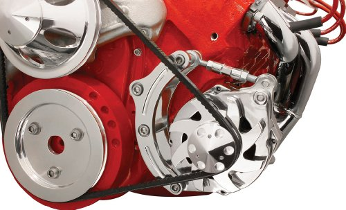 Billet-Specialties-FM0205PC-Short-Water-Pump-Driver-Side-Low-Mount-Alternator-Bracket-for-Big-Block-Chevy-0