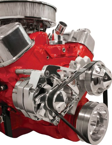 Billet-Specialties-FM0207PC-Long-Water-Pump-Passenger-Side-Mid-Mount-Alternator-Bracket-for-Big-Block-Chevy-0