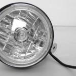 Black-Billet-Custom-Headlight-5-34-Tri-Bar-DOT-for-Harley-Davidson-Motorcycles-tribar-0-1
