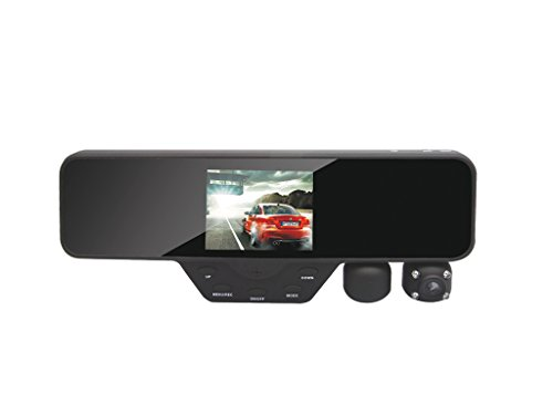 Black-Box-M1000-Rearview-Mirror-Dash-Cam-Dual-Camera-Rotating-Camera-1080P-Car-DVR-16GB-SD-Included-0-0