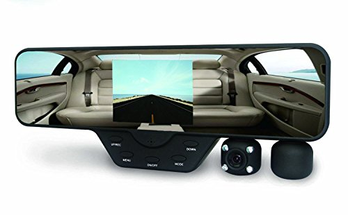 Black-Box-M1000-Rearview-Mirror-Dash-Cam-Dual-Camera-Rotating-Camera-1080P-Car-DVR-16GB-SD-Included-0