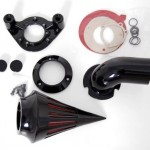 Black-Spike-Air-Cleaner-Intake-for-Harley-Davidson-Sportster-Carburetors-1991-2006-0