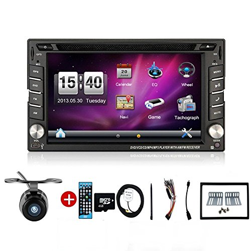 Bosion-62-inch-Double-DIN-Gps-Navigation-for-Universal-Car-Free-Backup-Camera-0-0