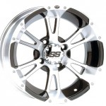 Bundle-9-Items-ITP-SS112-14-Wheels-Machined-26-Rip-Saw-Tires-4×110-Bolt-Pattern-10mmx125-Lug-Kit-0-0