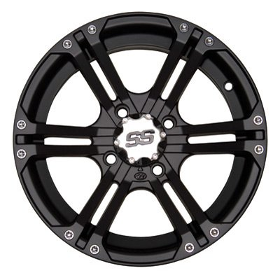 Bundle-9-Items-ITP-SS212-14-Wheels-Black-28-Zilla-Tires-4×110-Bolt-Pattern-10mmx125-Lug-Kit-0-0