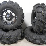 Bundle-9-Items-ITP-SS212-14-Wheels-Black-28-Zilla-Tires-4×110-Bolt-Pattern-10mmx125-Lug-Kit-0